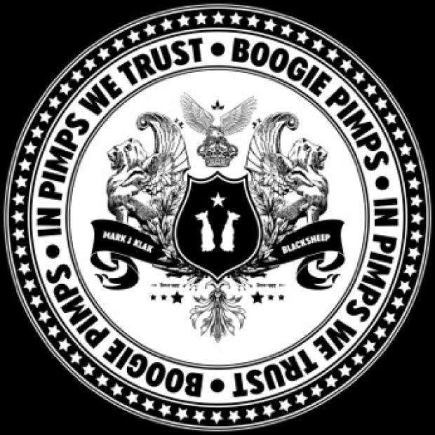 Logo for In Pimps We Trust