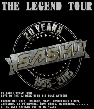 SASH! THE LEGEND TOUR